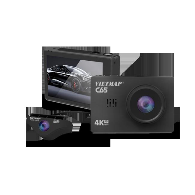 Camera Hành Trình Trước Sau Cao Cấp Vietmap C65