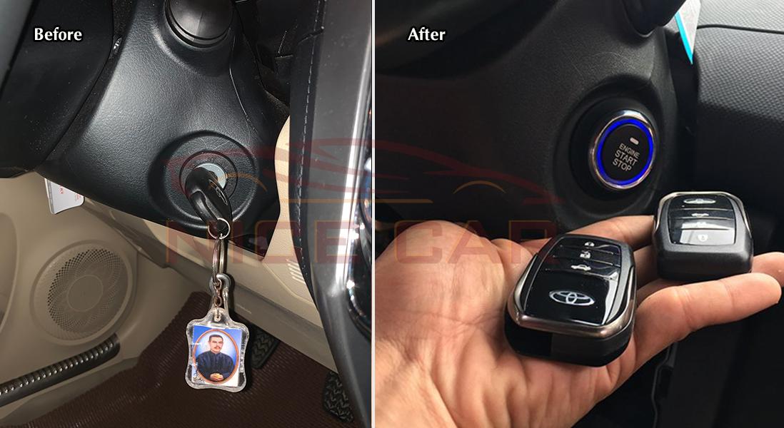 start stop smart key