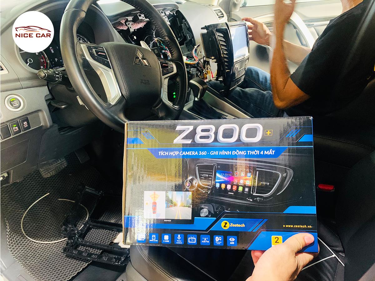 MÀN HÌNH TÍCH HỢP CAMERA 360 ĐỘ ZESTECH Z800+ !