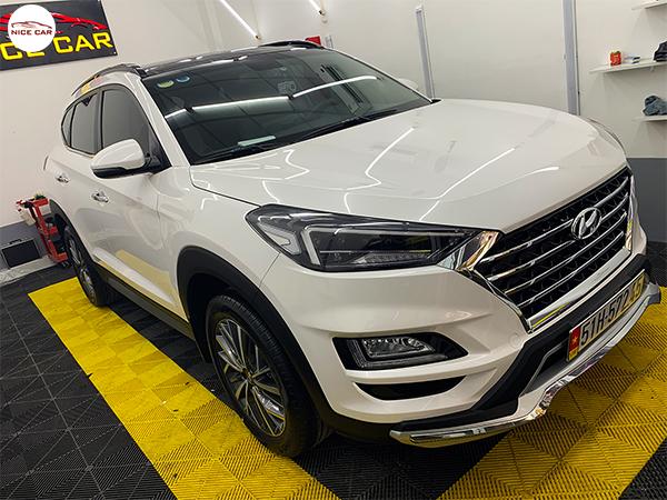 Tong hop phu kien do choi Hyundai Tucson 2020