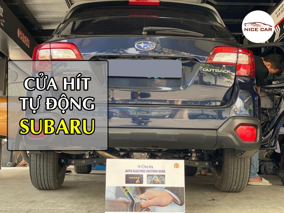 Cửa Hít Cao Cấp Xe Subaru Forester, Outback 2021, Zin xe 100%