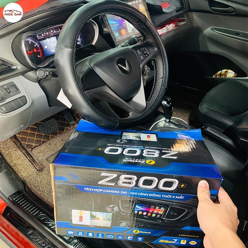 VINFAST FADIL LẮP MÀN HÌNH LIỀN CAMERA 360 ĐỘ ZESTECH Z800+