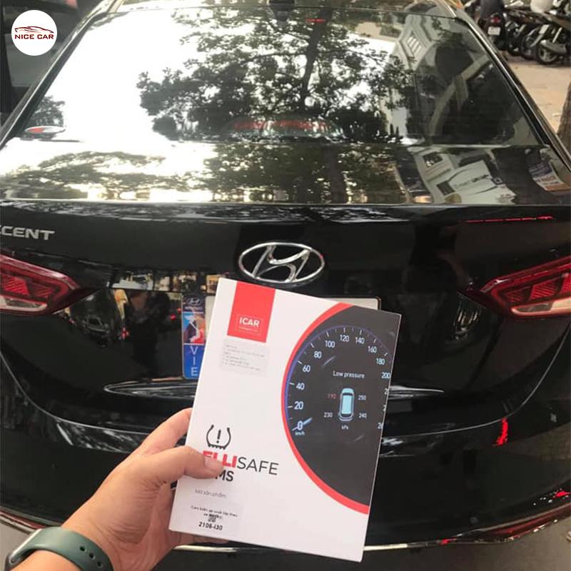 Cam bien ap suat lop Hyundai Accent 2021
