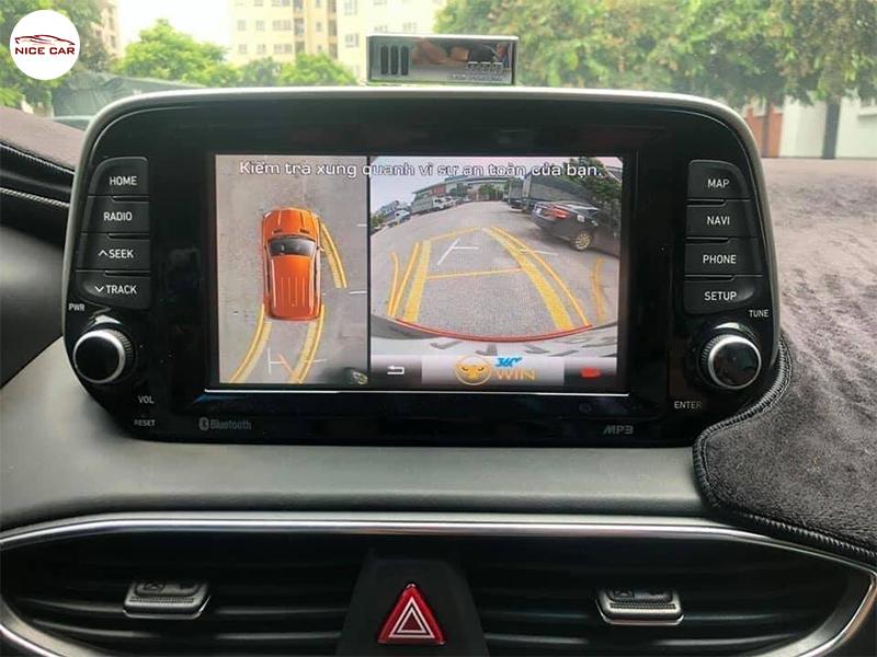 Camera 360 do xe Hyundai Santafe 2020
