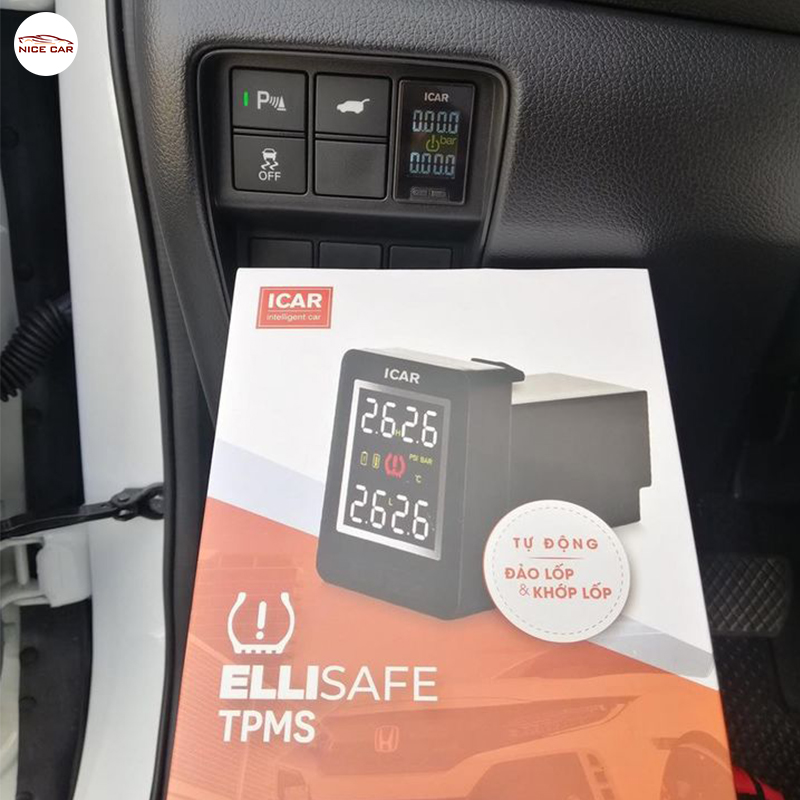 Cam bien ap suat lop tich hop lo cho Honda CRV 2020