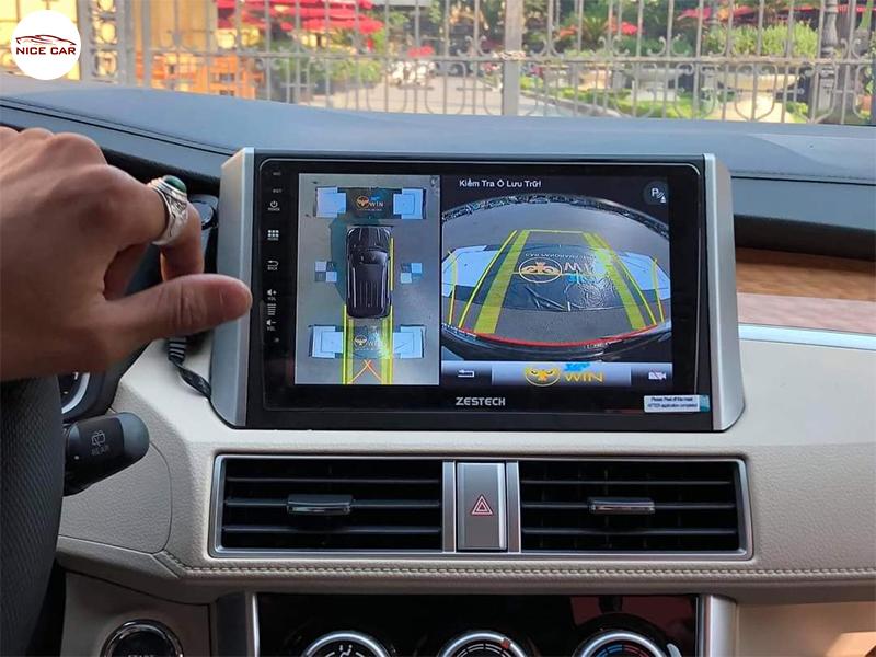 Camera 360 độ xe Xpander 2020